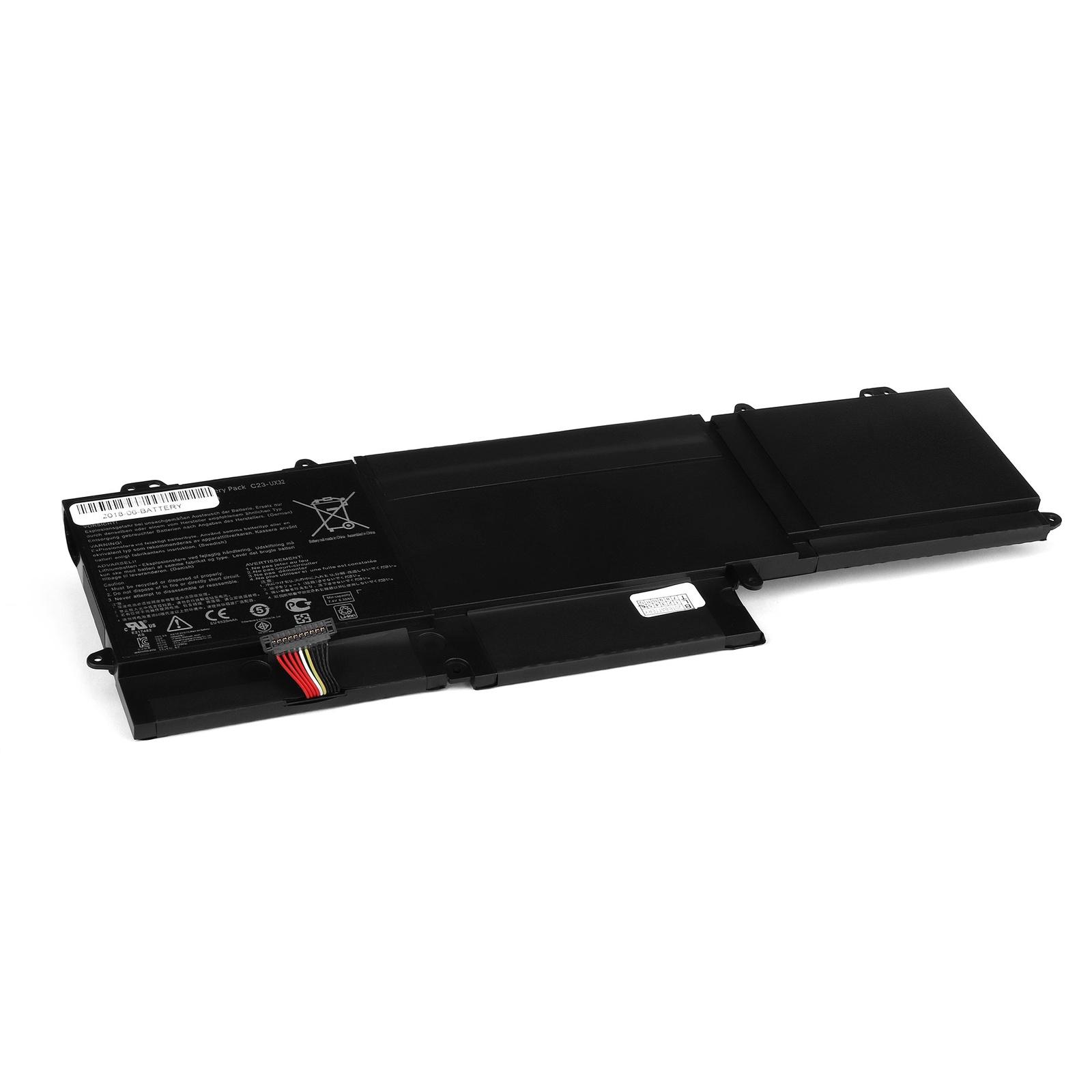 Аккумулятор для ноутбука OEM Asus Zenbook UX32 Series. 7.4V 6520mAh. PN: C23-UX32 аксессуары для фотостудий oem 100