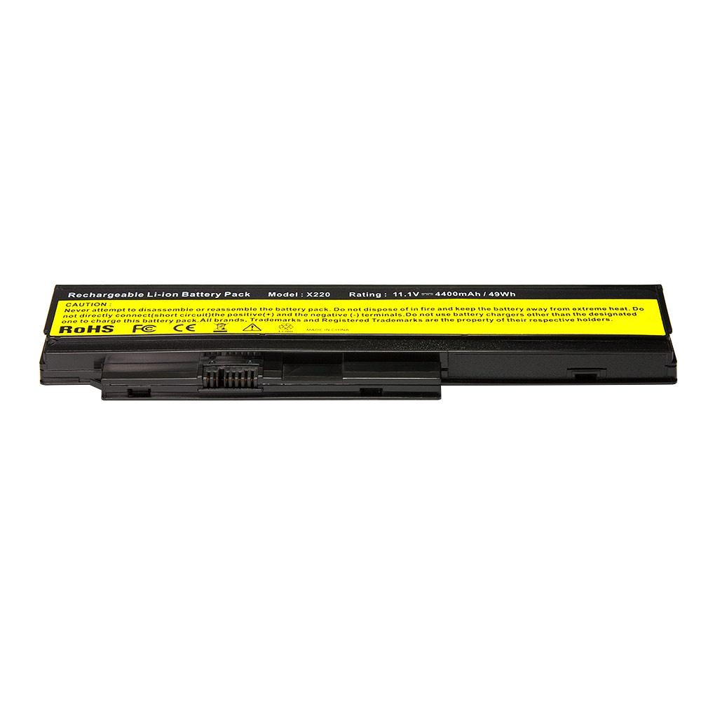 Аккумулятор для ноутбука OEM IBM Lenovo ThinkPad X220, X220i, X220s, X230 Series. 11.1V 4800mAh PN: 42T4861, 42T4862 аккумулятор для ноутбука hp compaq hstnn lb12 hstnn ib12 hstnn c02c hstnn ub12 hstnn ib27 nc4200 nc4400 tc4200 6cell tc4400 hstnn ib12