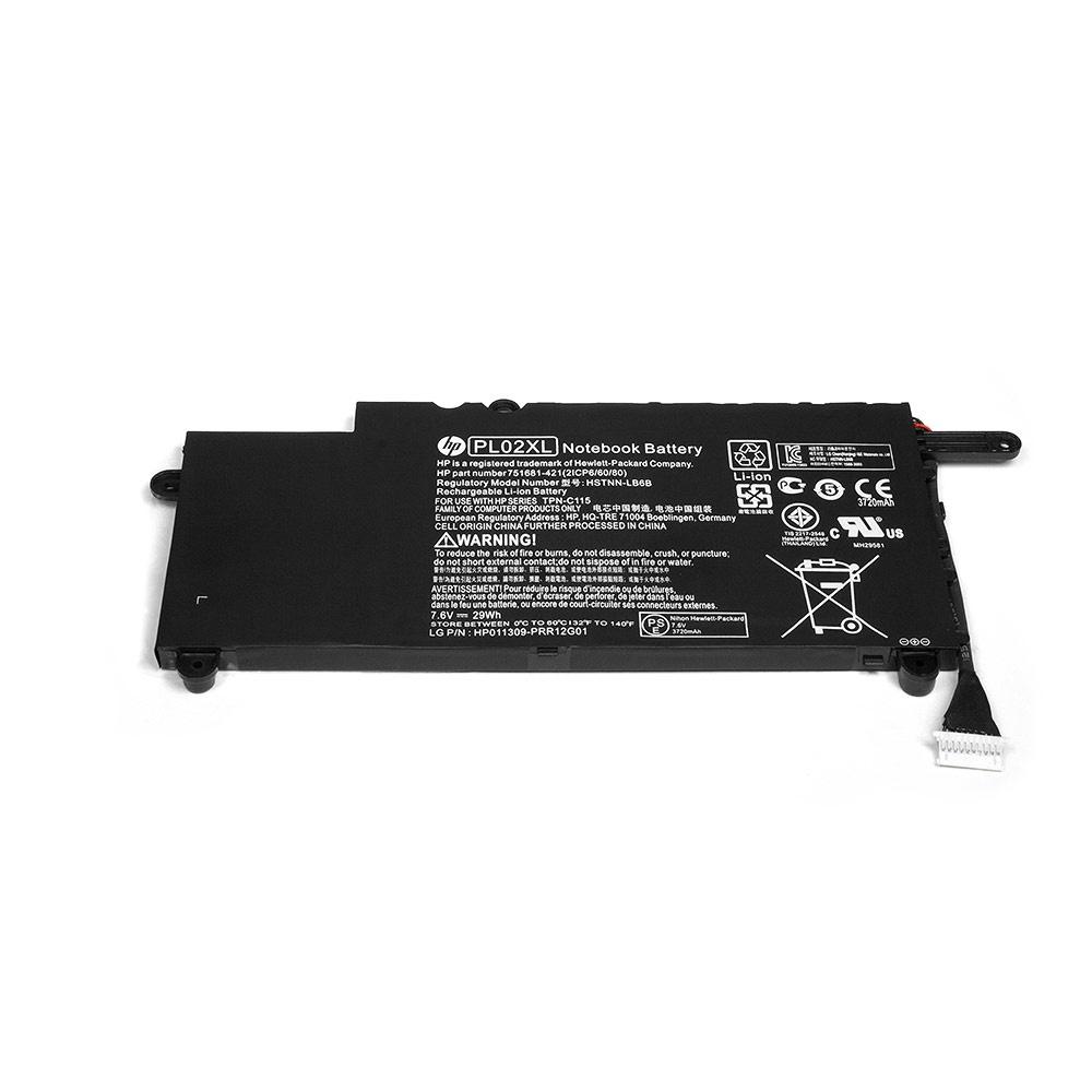 Аккумулятор для ноутбука OEM HP Pavilion 11-n000, X360 Series. 7.6V 3720mAh PN: 751681-421, HSTNN-LB6B, PL02XL аккумулятор oem 15