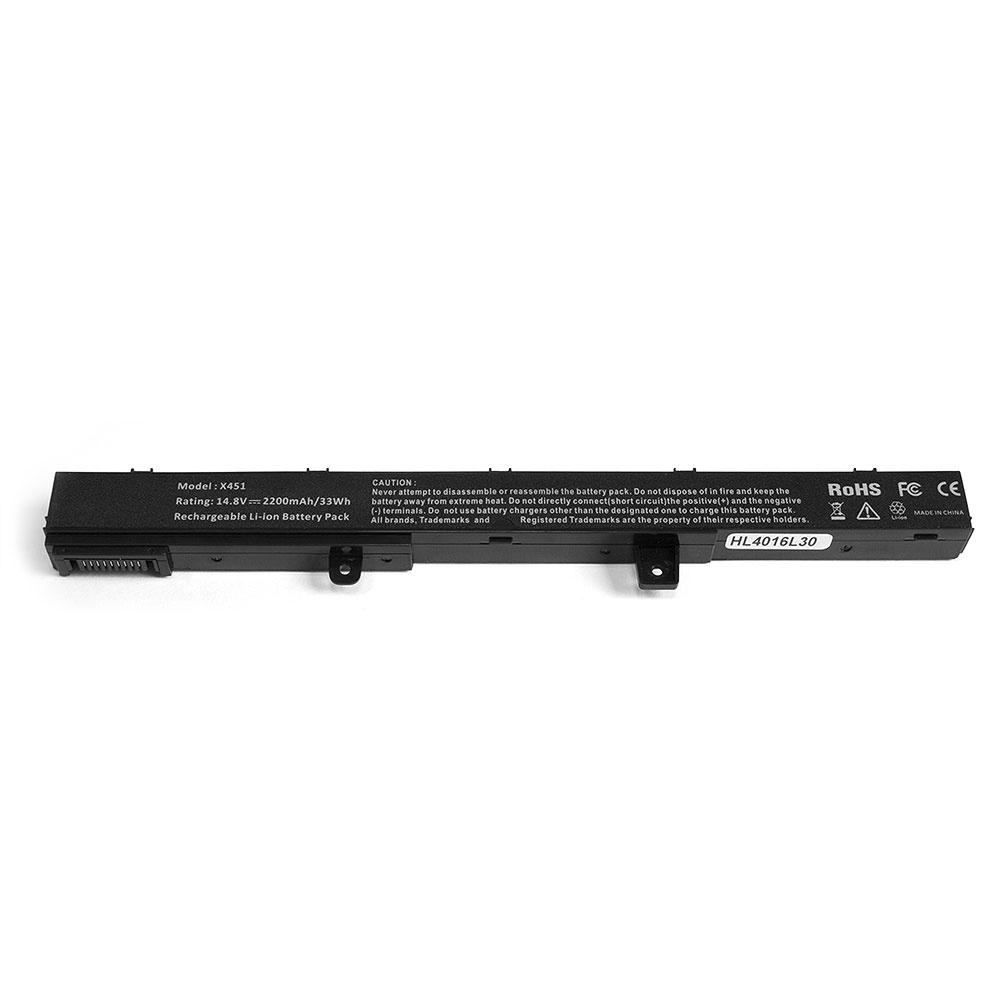 Аккумулятор для ноутбука OEM Asus X451, X551CA Series. 14.8V 2200mAh PN: A41N1308, X45Li9C аккумулятор для ноутбука asus x200ca x200la x200ma vivobook f200ca series 11 1v 2200mah 24wh a