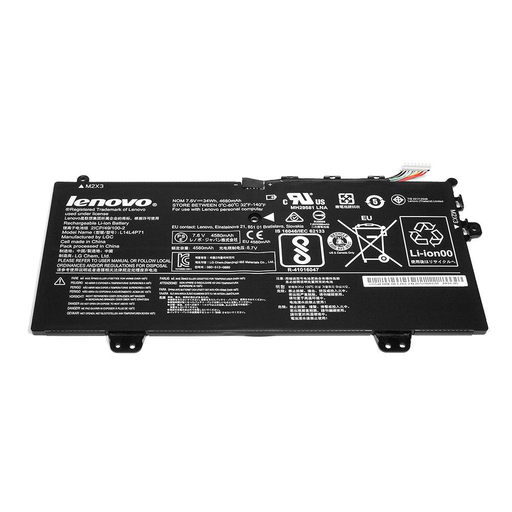 Аккумулятор для ноутбука OEM Lenovo Yoga 3 Pro 11. 7.5V 4650mAh. PN: L14L4P71 цена
