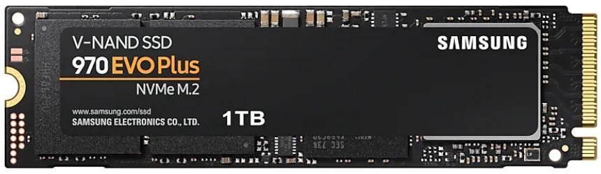 SSD диск Samsung MZ-V7S, черный