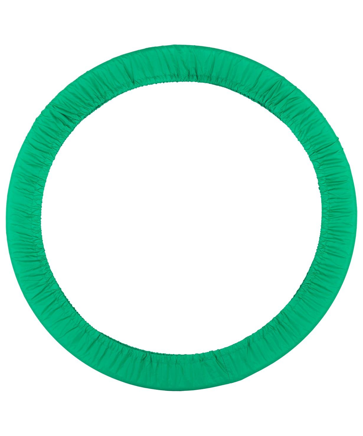 Чехол для гимнастического обруча Chersa без кармана D75, зеленый