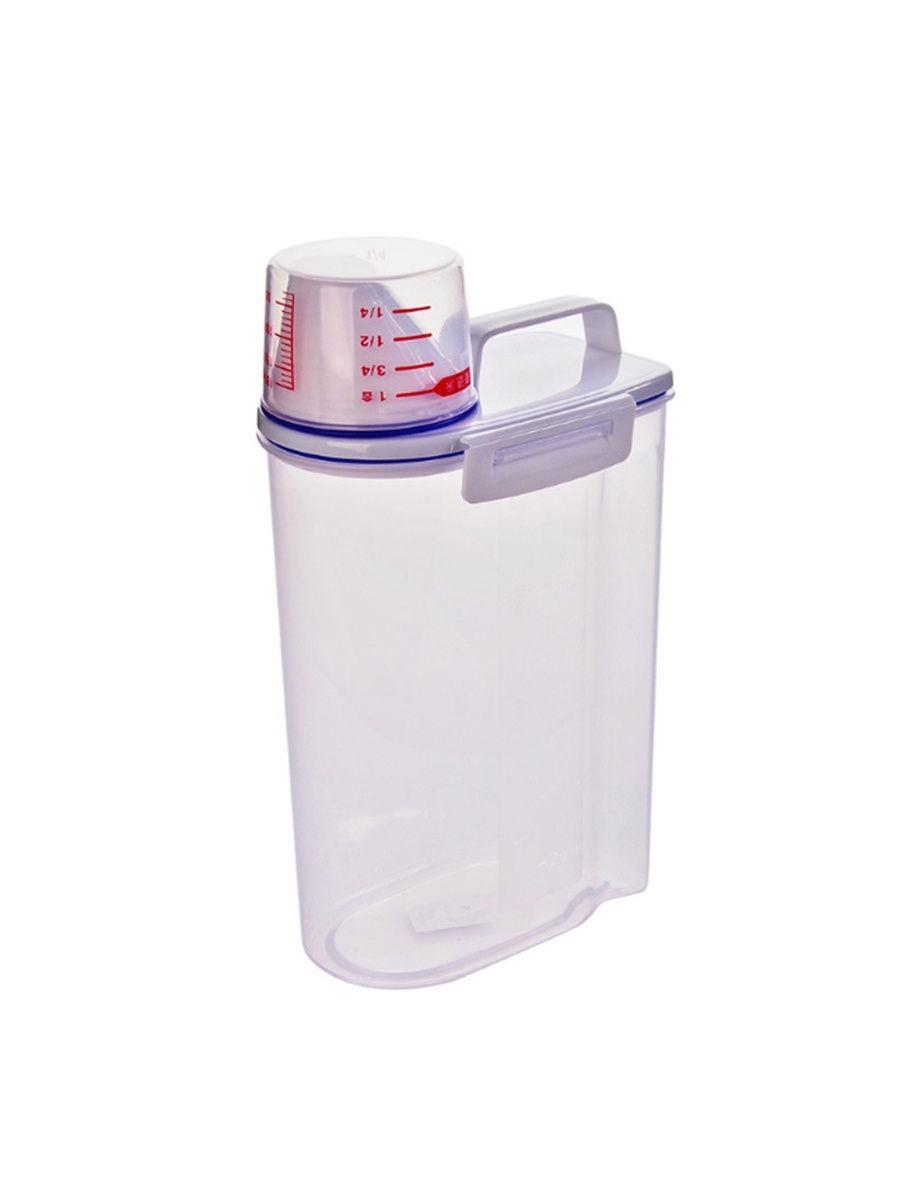 Банка для сыпучих продуктов USLANBFAY RYP23-02, прозрачный