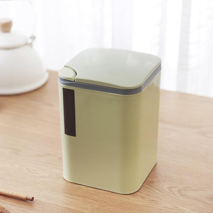 Мусорное ведро Migliores Пластиковый, подвесной контейнер, зеленый