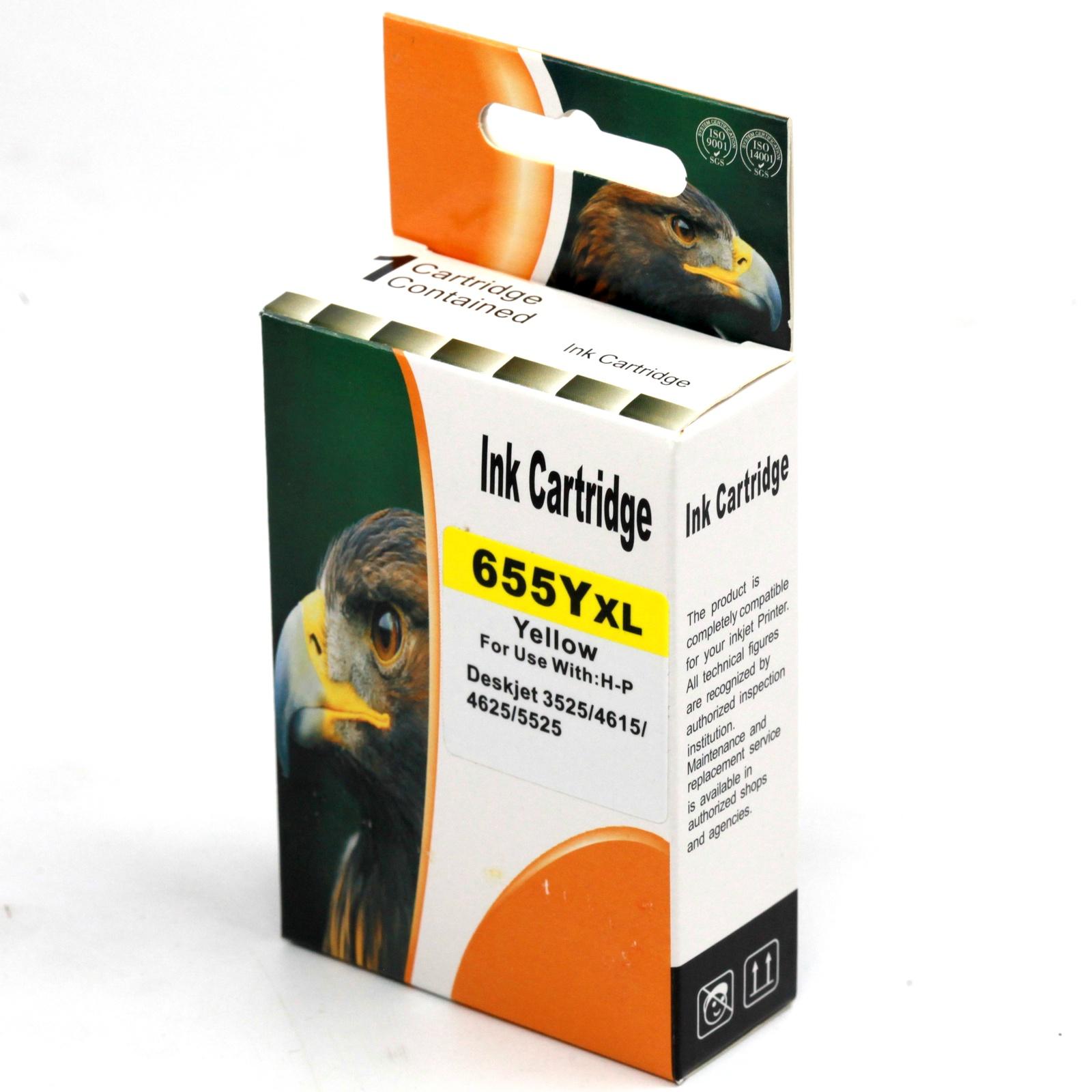 Картридж INKO HP 655, желтый мфу hp deskjet ink advantage 5525