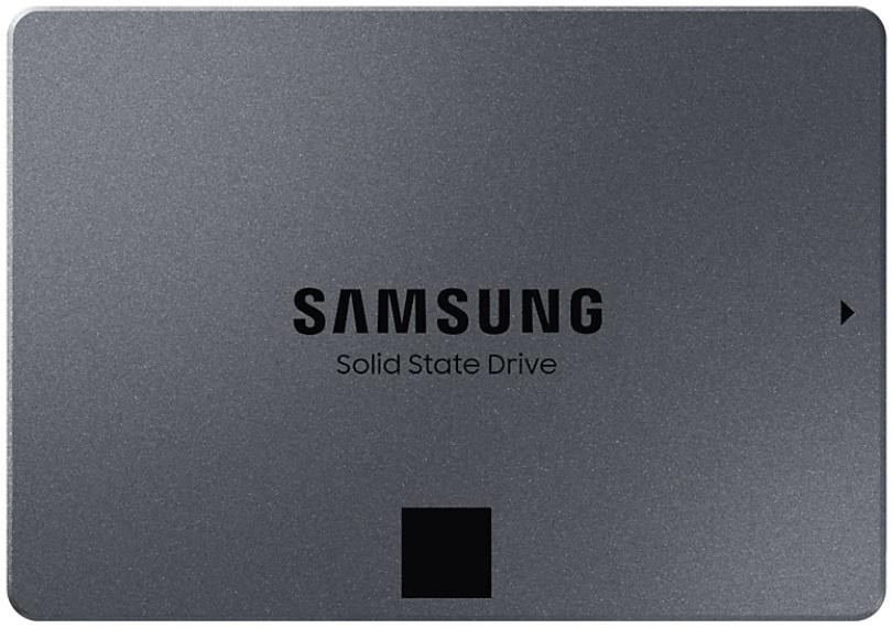 SSD диск Samsung MZ-76Q, серый металлик