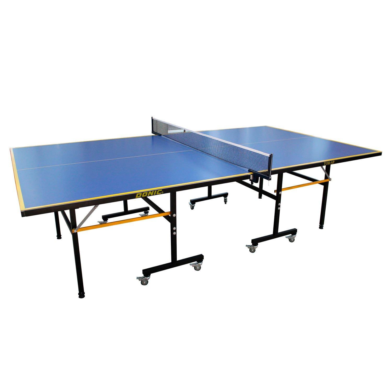 Теннисный стол DFC TOR-SP, синий теннисный стол dfc tornado 4 мм с сеткой