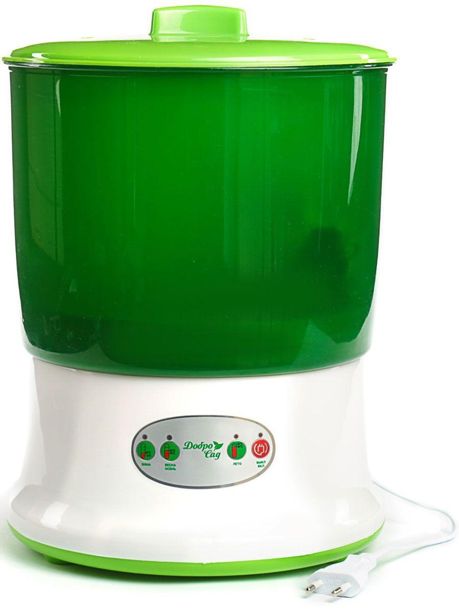 Проращиватель ДоброСад 145127123, зеленый