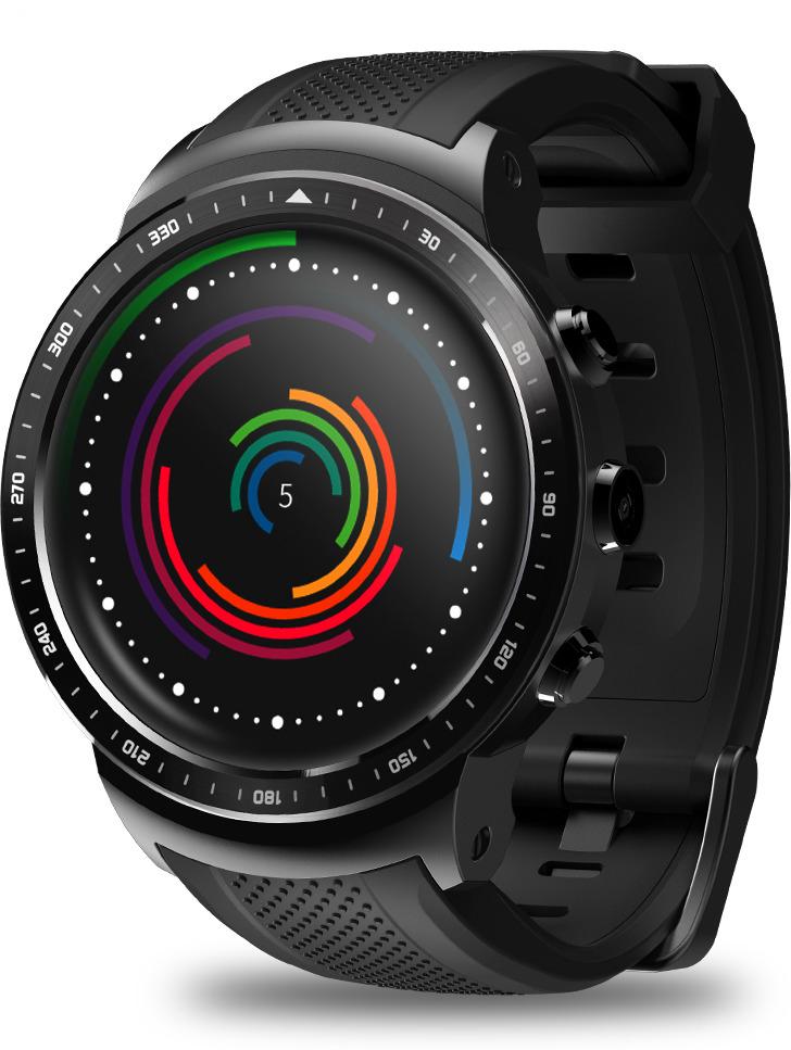 Умные часы Zeblaze Thor Pro сравнительный тест gps навигаторов