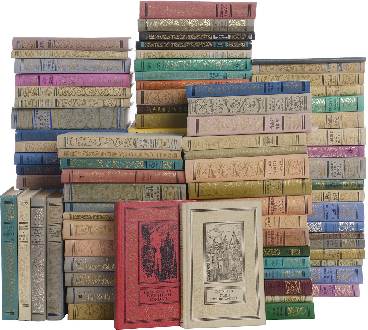 Серия Библиотека приключений и научной фантастики (комплект из 100 книг) серия библиотека зарубежной фантастики комплект из 8 книг