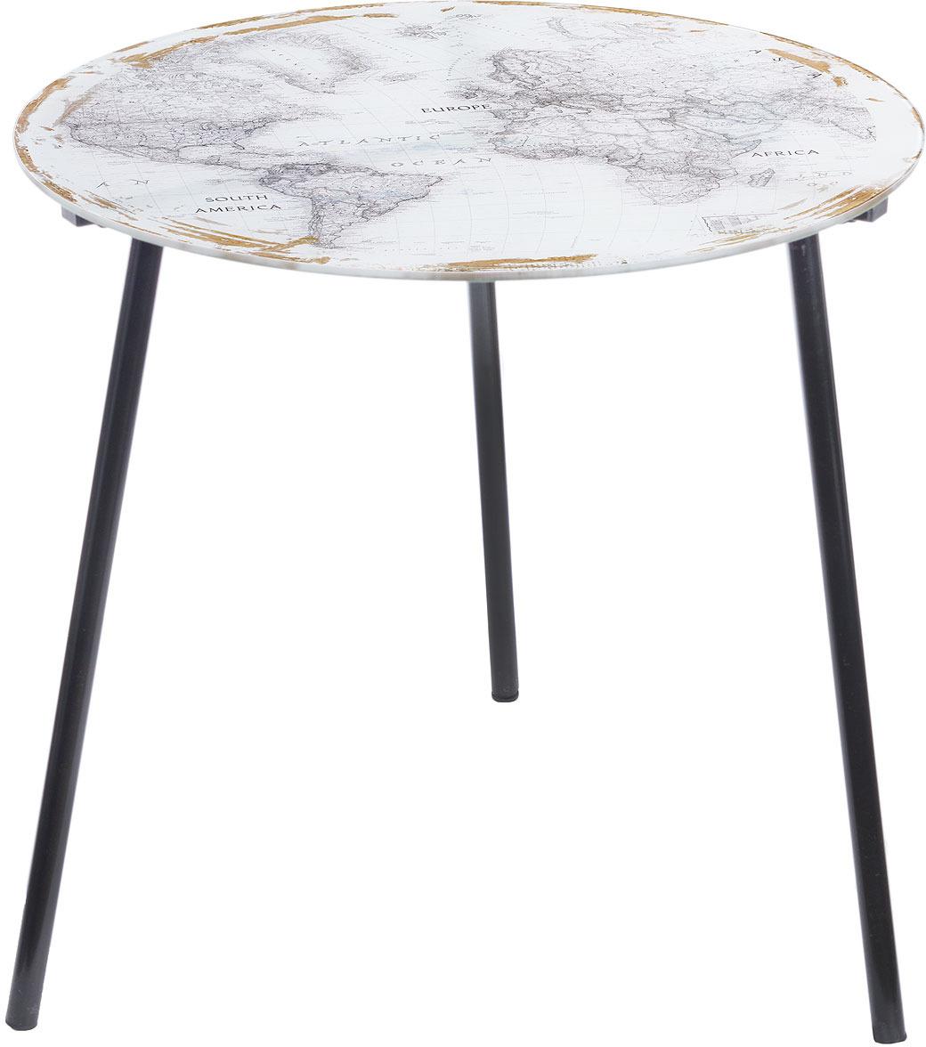 Столик кофейный Русские подарки, 78949, светло-серый, 50 х 50 см цена