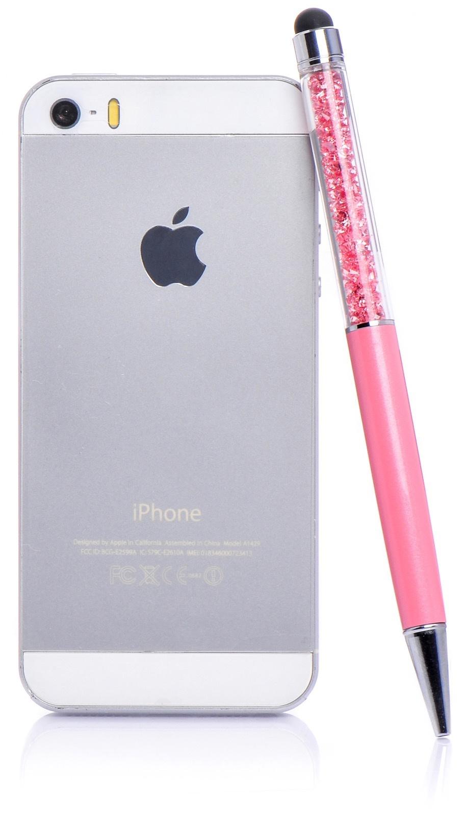Стилус для мобильного телефона iNeez стилус - ручка rose емкостной с кристаллами, розовый ручка стилус philippi doux in a black pencil case z54069 30