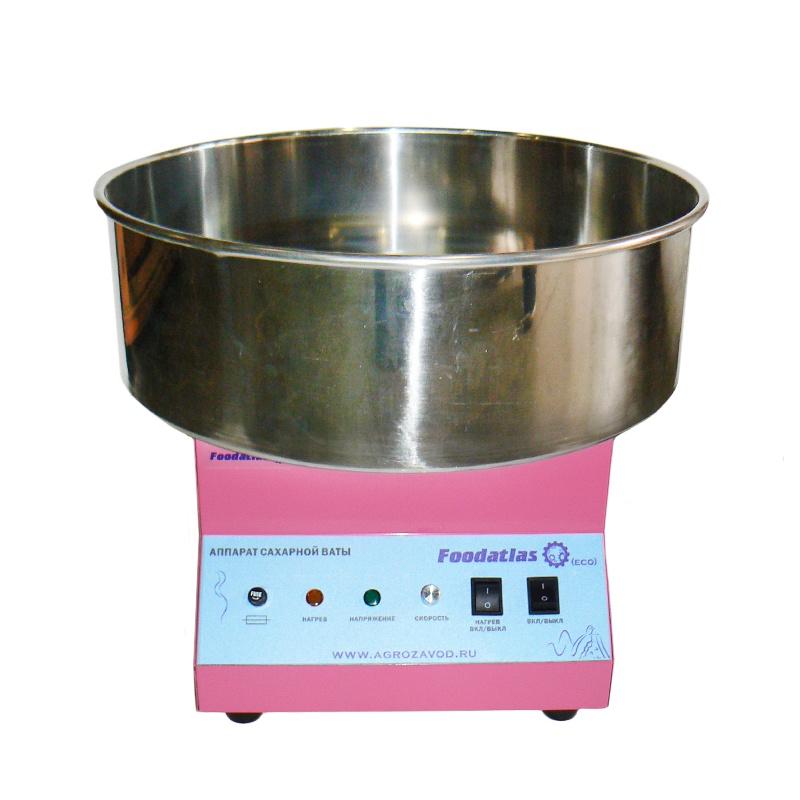 Аппарат для сахарной ваты Foodatlas CC-3702, розовый Foodatlas