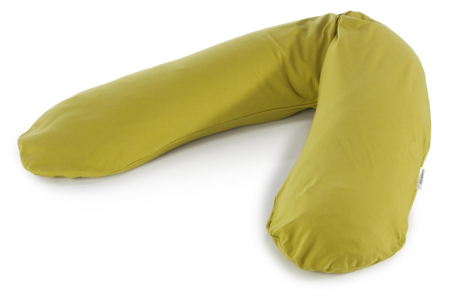 Подушка для кормящих и беременных Theraline Jersey зеленая, зеленый