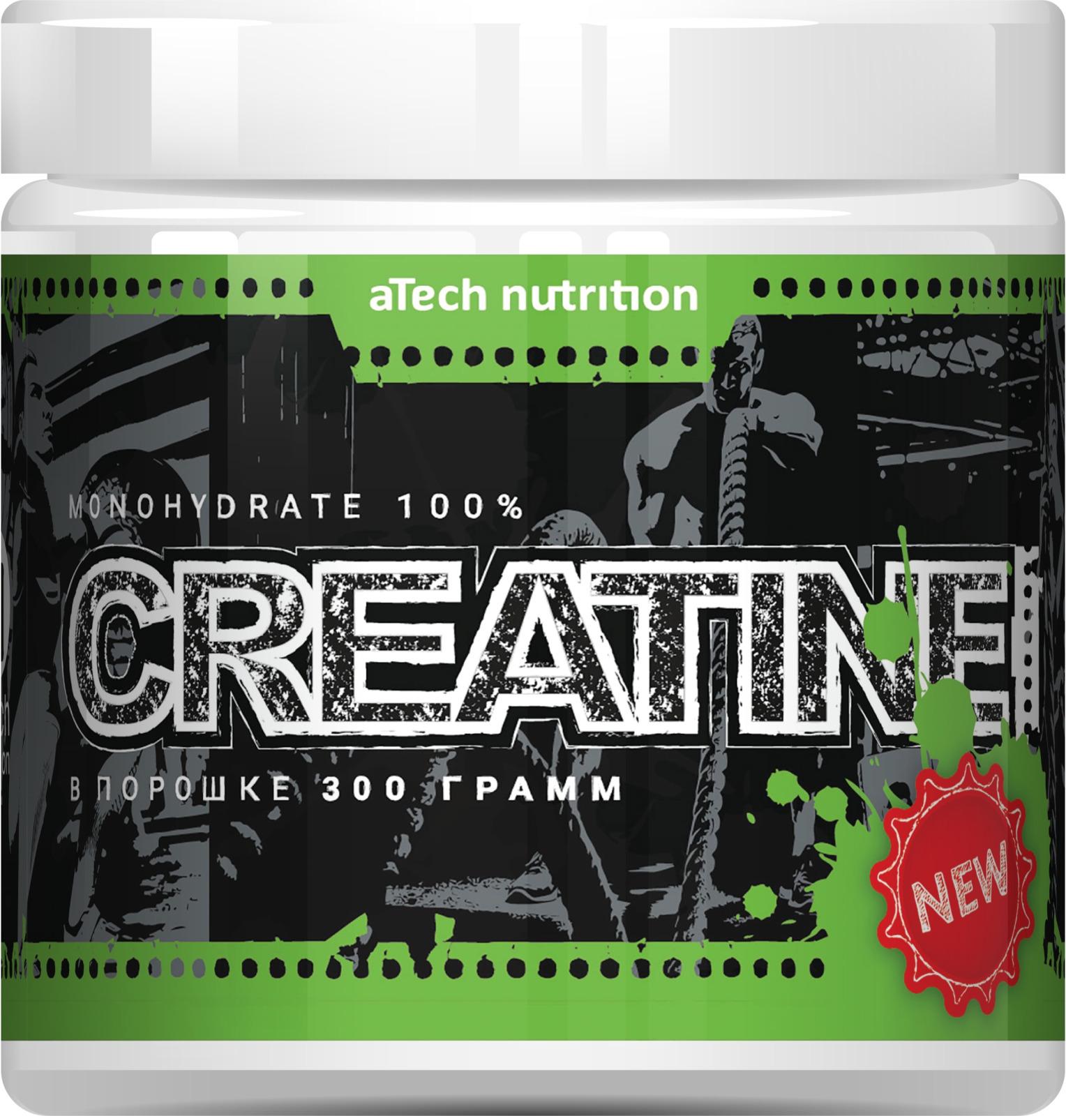 Креатин aTech Nutrition Creatine Monohydrate 100%, 300 г стоимость