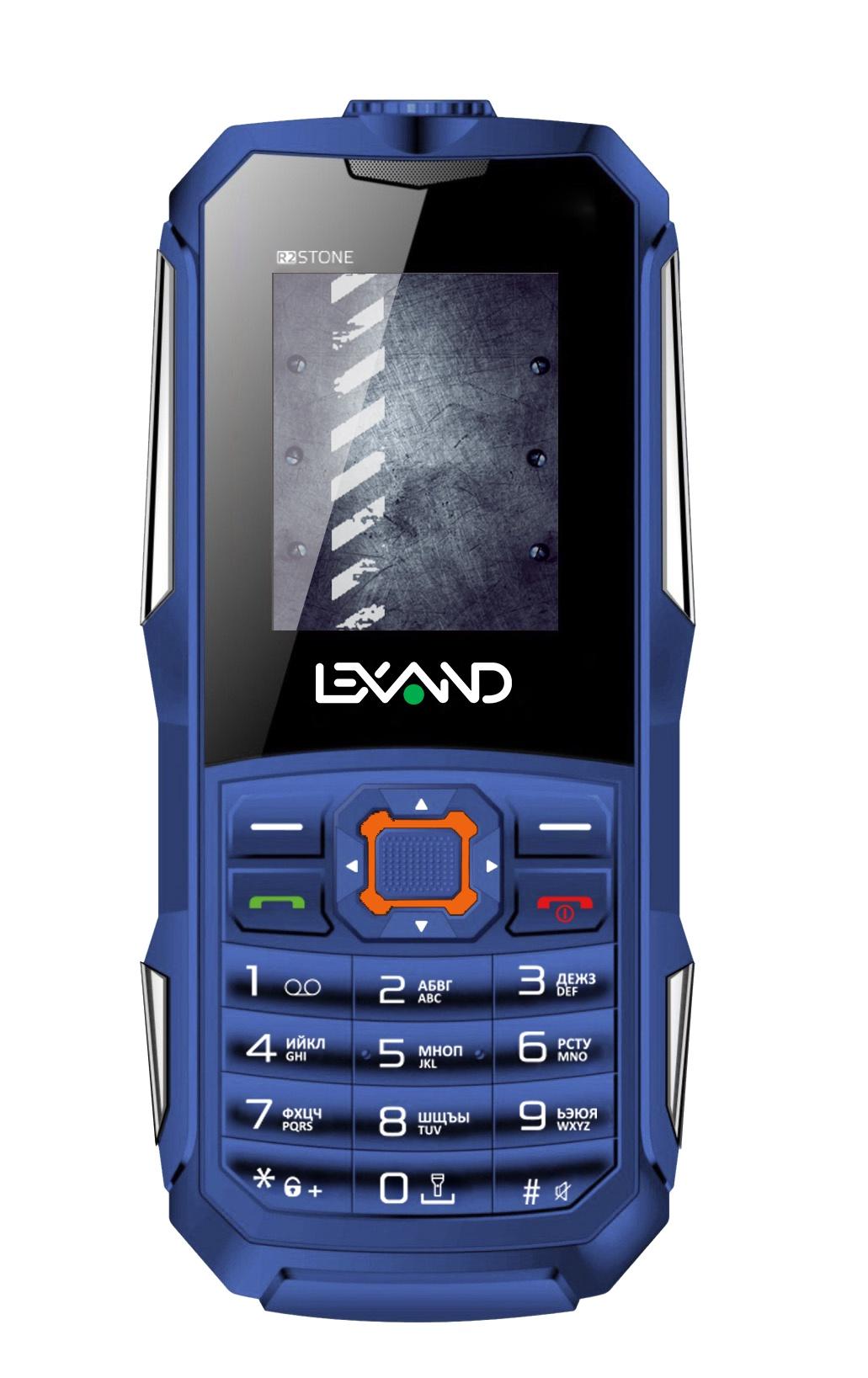 Мобильный телефон Lexand R2 Stone, синий