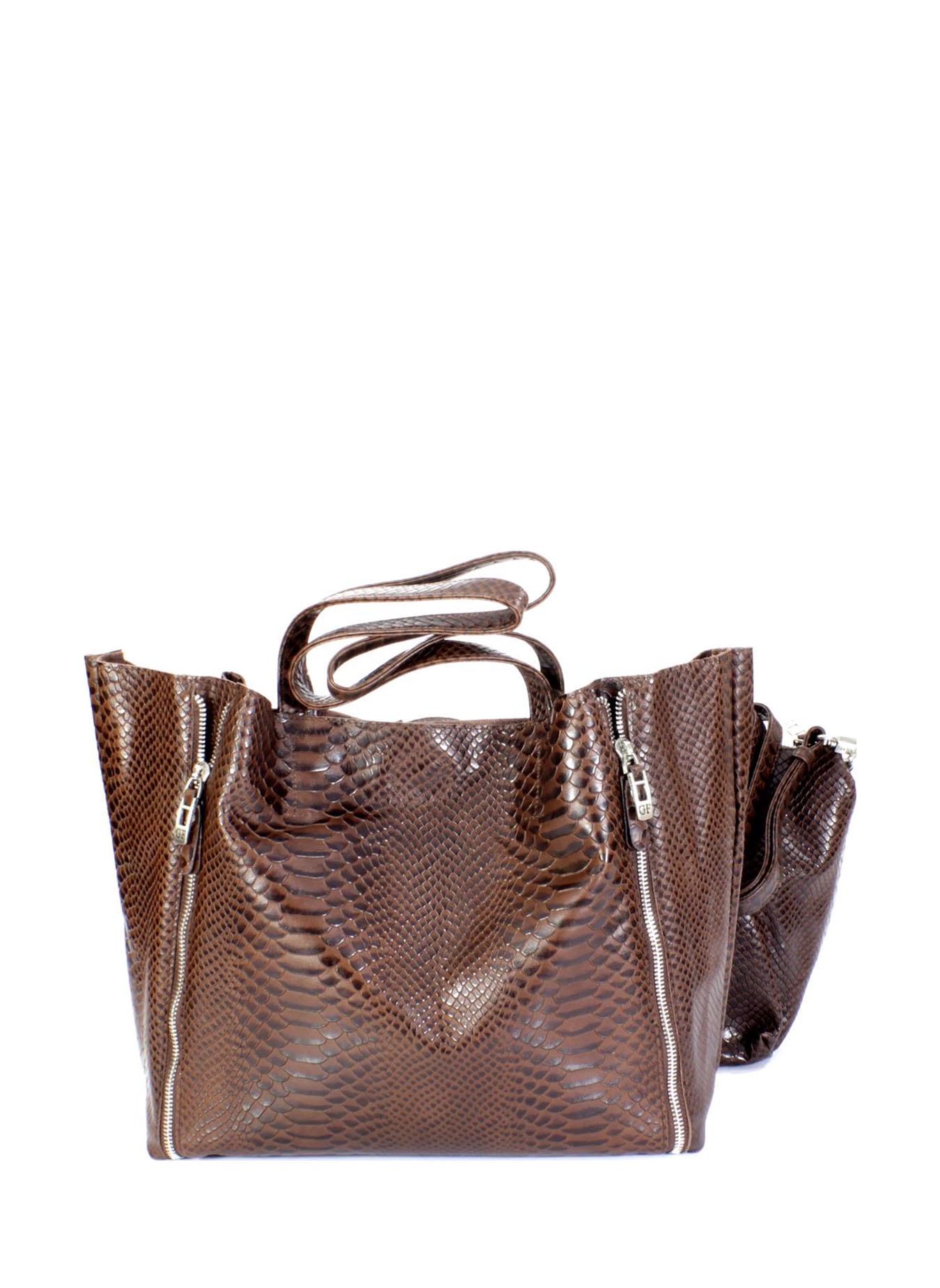 цены Сумка на плечо Giorgio Ferretti 32433 3 coffee GF, коричневый