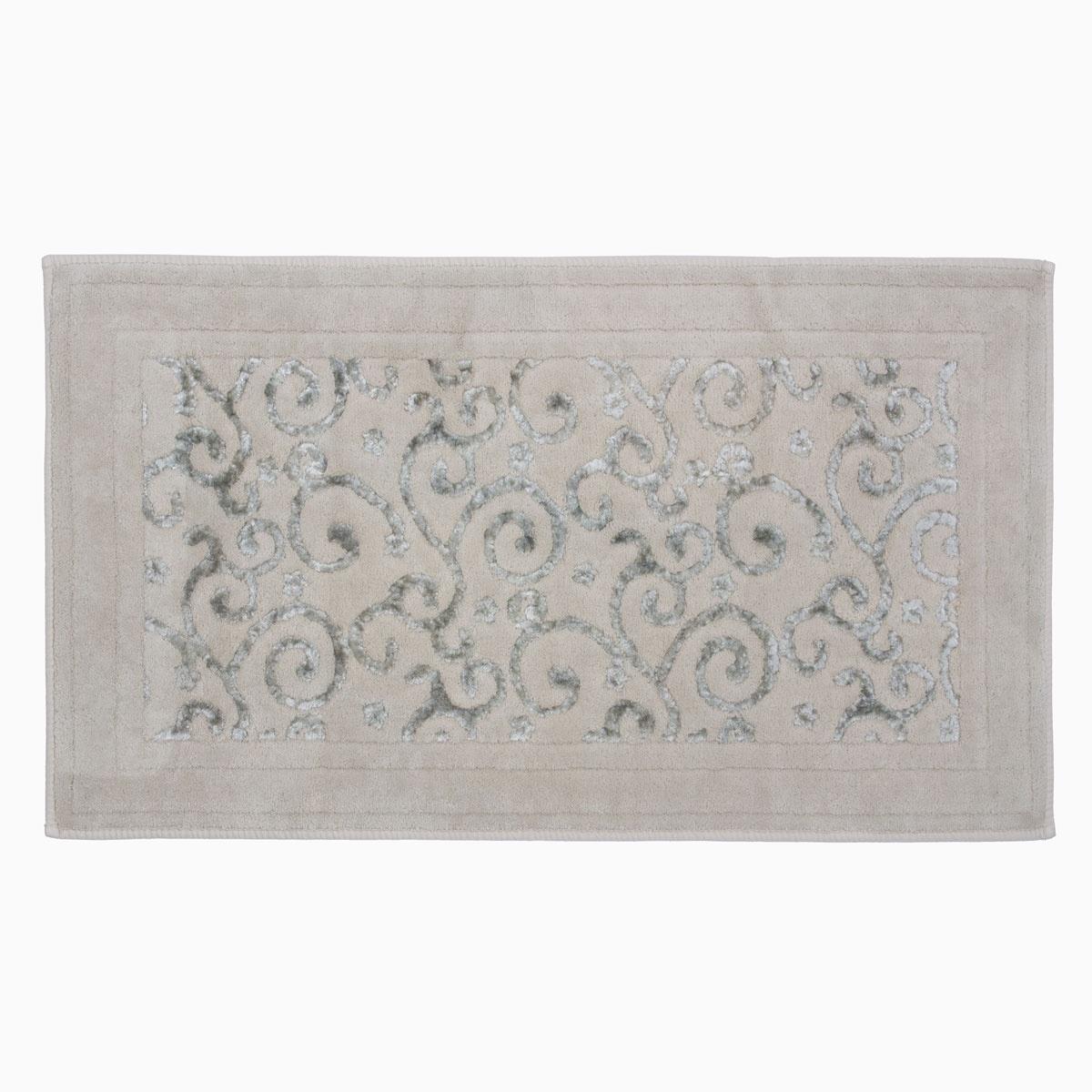 Коврик для ванной Arya home collection Lena, бежевый коврик arya 60х100 2 пр assos бирюзовый 1126860