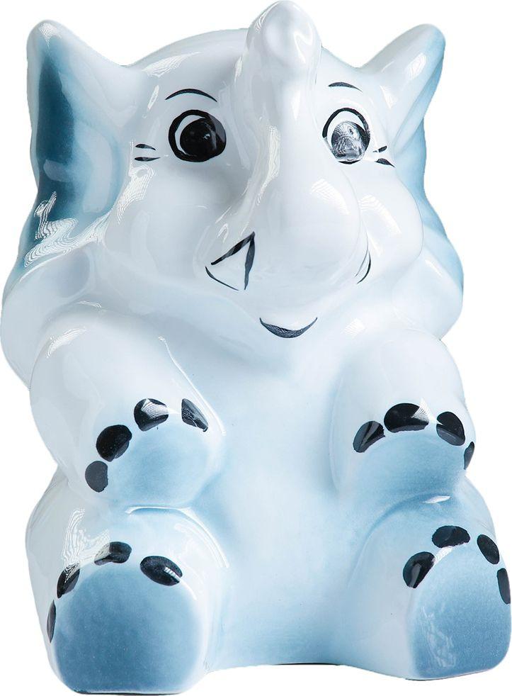 Фото - Ершик для унитаза Хорошие сувениры Слон, с подставкой, 1802460, белый, голубой сувениры