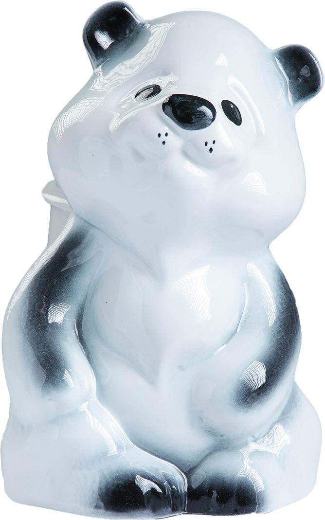 Подставка под ёрш Хорошие сувениры Медведь, с подставкой, 1802466, белый, черный бизнес сувениры антистресс