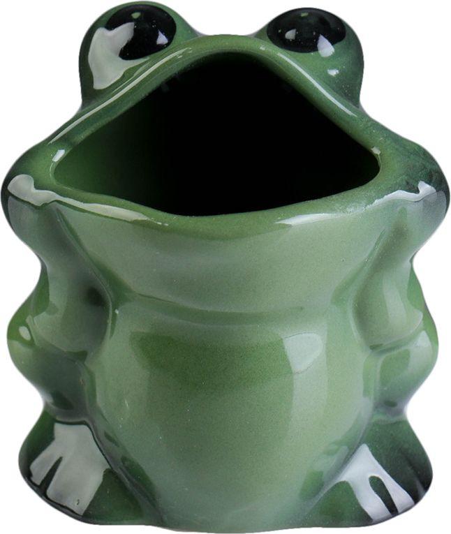 Фото - Стакан для ванной комнаты Хорошие сувениры Лягушка, 1802471, зеленый, см сувениры