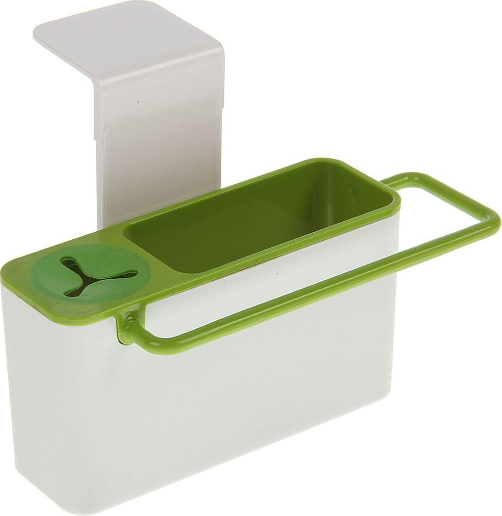 Полка для ванной комнаты, 1887394, белый, 19,5 х 9 х 10 см