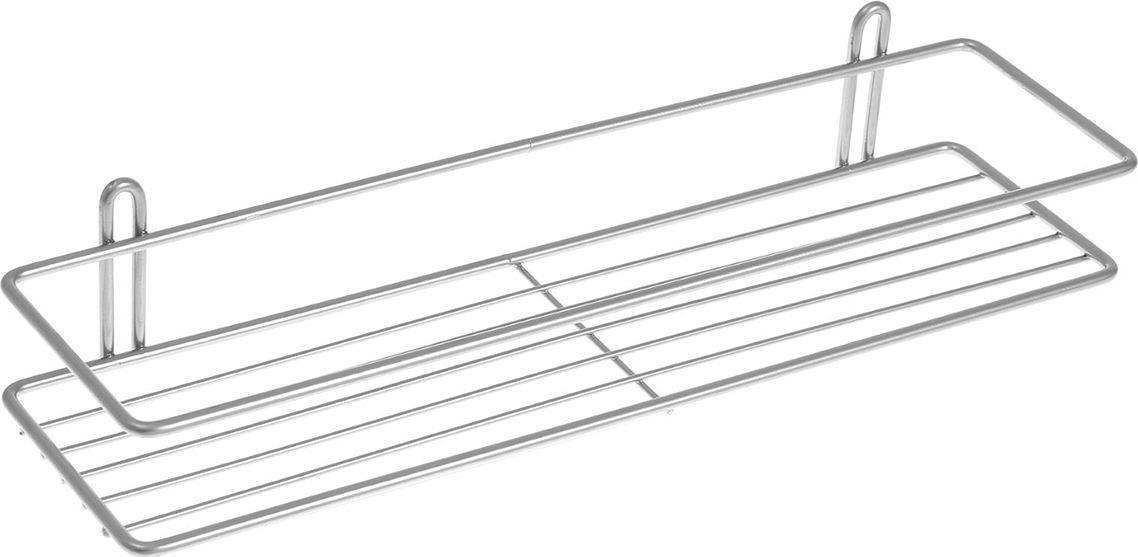 Полка для ванной комнаты Classic, 2049812, серый металлик, 40 х 10 х 7 см jd коллекция ванная полка дефолт