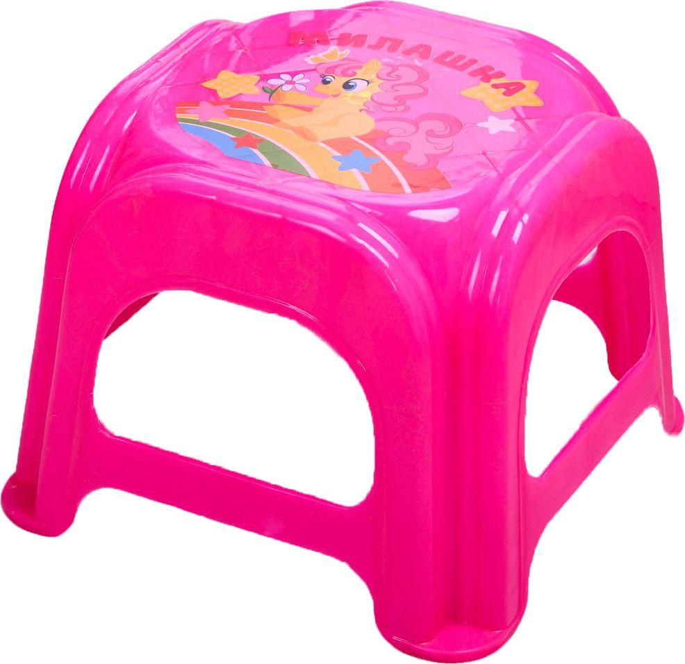 """Подставка детская Крошка Я """"Милашка"""", 2223724, розовый, 21 х 21 х 20 см"""