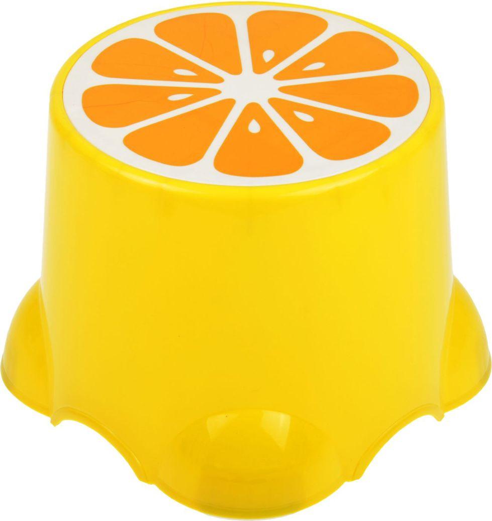 "Подставка детская ""Лимон"", 2272282, желтый, 20,5 х 20,5 х 13 см"
