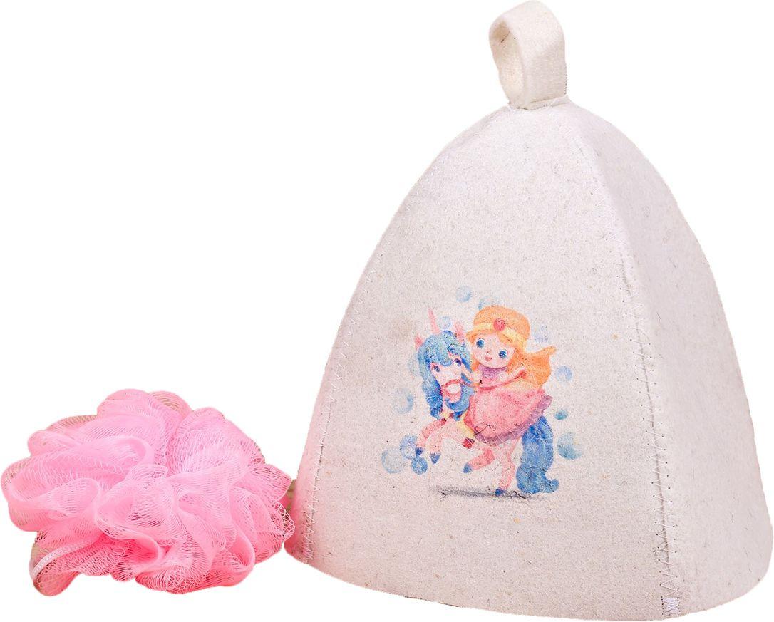 Детский банный набор Банная забава Лучшей из принцесс, 2867542, белый банный массажер fidget go банный