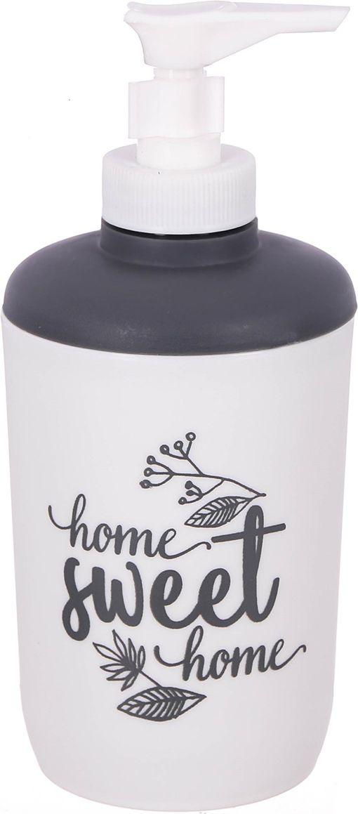 Дозатор для ванной комнаты Sweet home, 3243542, белый kano home sweet home