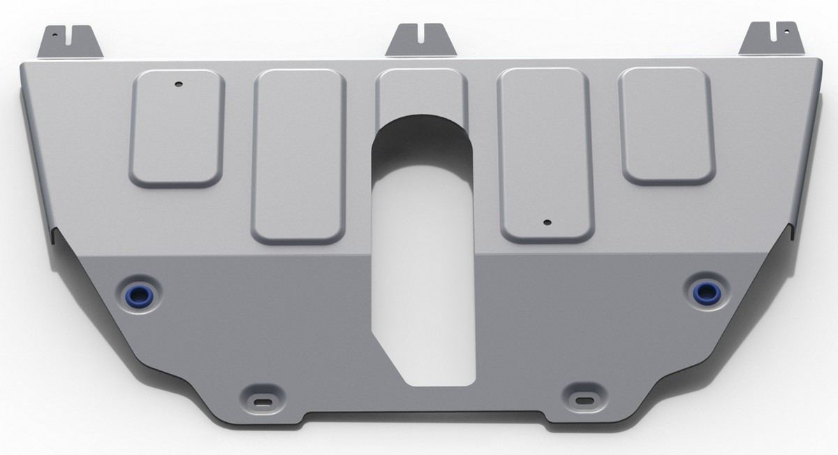 Защита картера и КПП Rival для Jeep Compass II 4WD 2018-н.в./Renegade I 4WD 2014-2018 2018-н.в., алюминий 4 мм, с крепежом. 333.2743.1 защита картера и кпп rival для jeep renegade 4wd 2015 н в алюминий 4 мм 333 2736 1