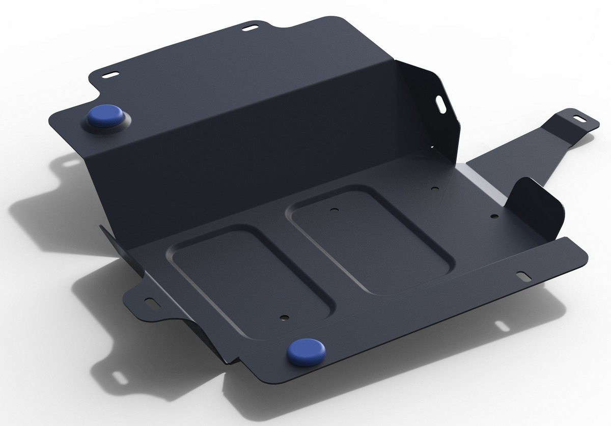 Защита адсорбера Rival для Geely Emgrand X7 I рестайлинг 2 2018-н.в., сталь 2 мм, с крепежом. 111.1920.1 защита адсорбера rival для geely emgrand x7 i рестайлинг 2018 н в сталь 2 мм 111 1920 1