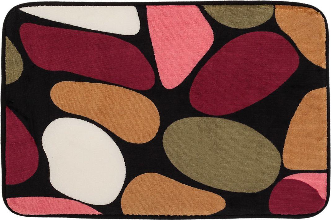 """Коврик для ванной Доляна """"Круги"""", 3542596, разноцветный, 39 х 59 см"""