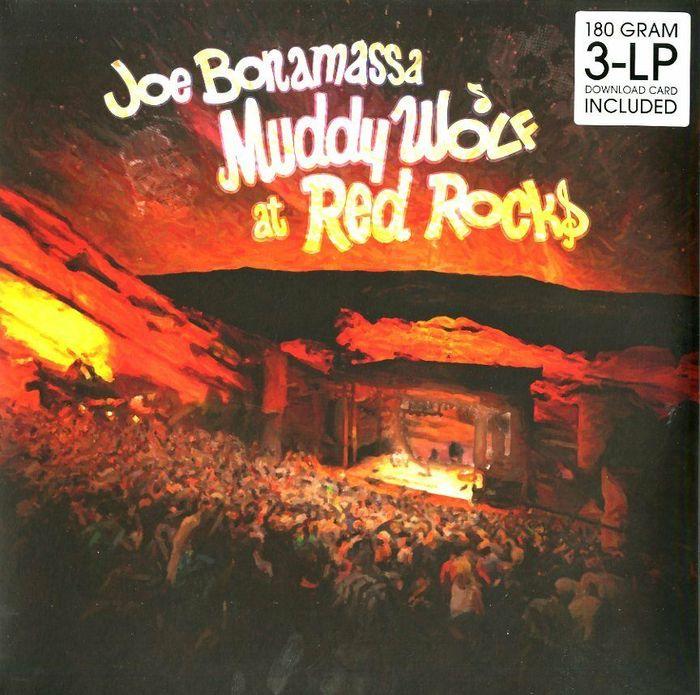 цена на Джо Бонамасса Joe Bonamassa. Muddy Wolf At Red Rocks(3 LP)