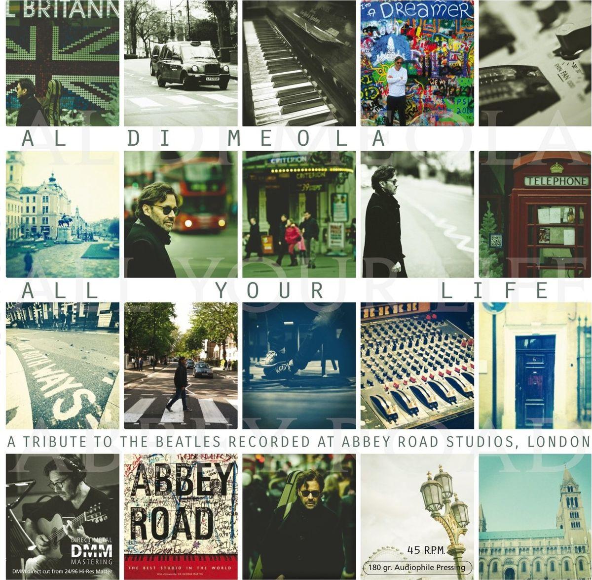 цена на Эл Ди Меола Di Meola Al. All Your Life - A Tribute To The Beatles (LP)