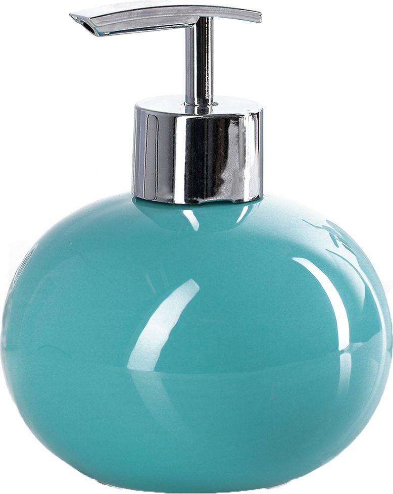 """Дозатор для жидкого мыла Доляна """"Карамель"""", 4004512, зеленый"""
