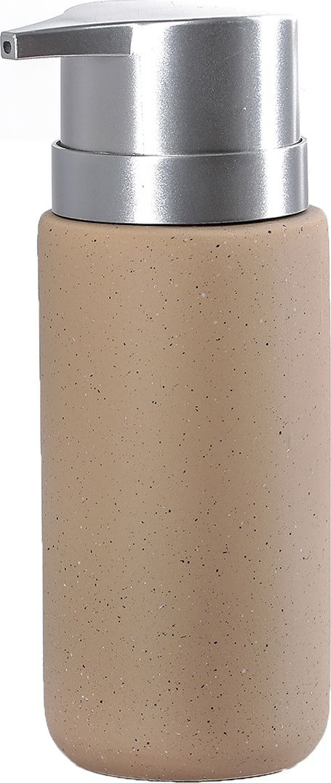 Дозатор для жидкого мыла Доляна Тринити, 4004528, желтый дозатор для мыла ribba