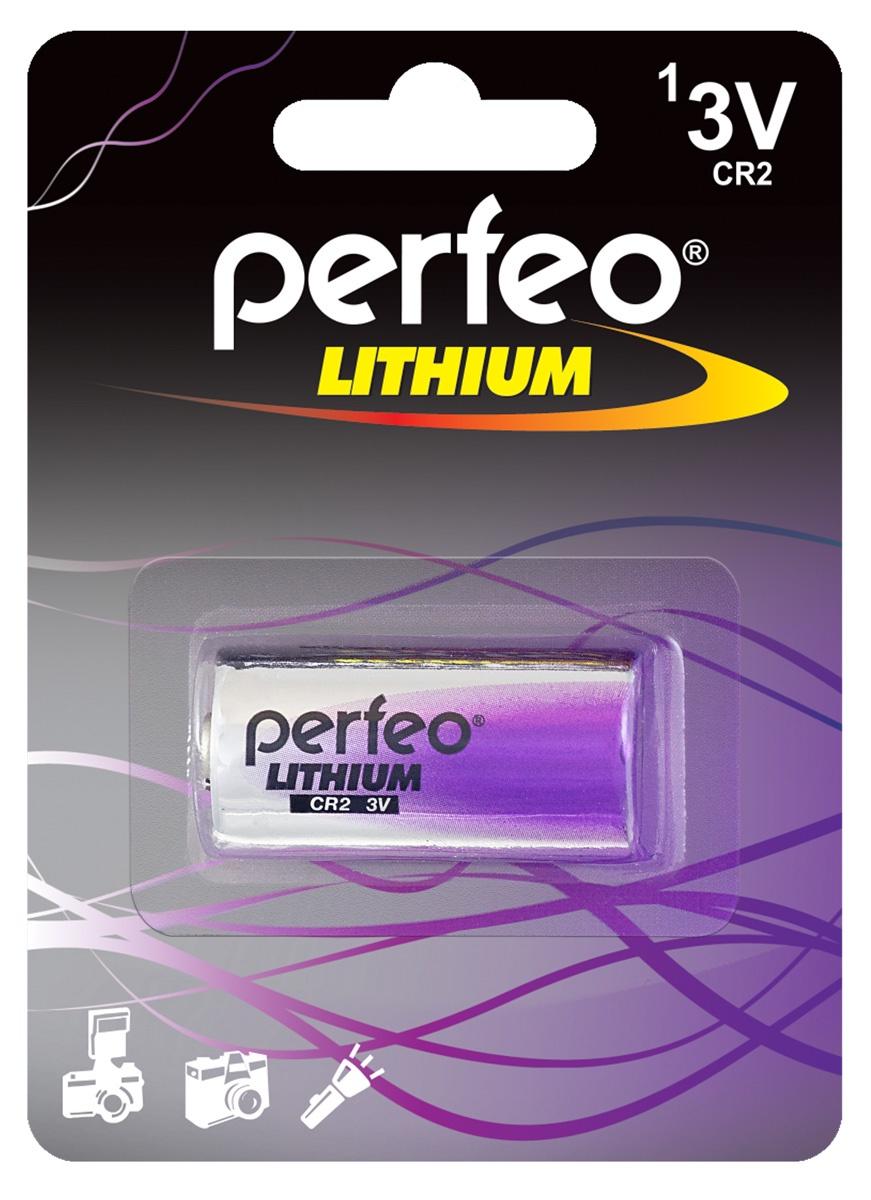 Батарейка Perfeo PF CR2/1BL батарейка cr2032 energizer lithium cr2032 3v 4 штуки