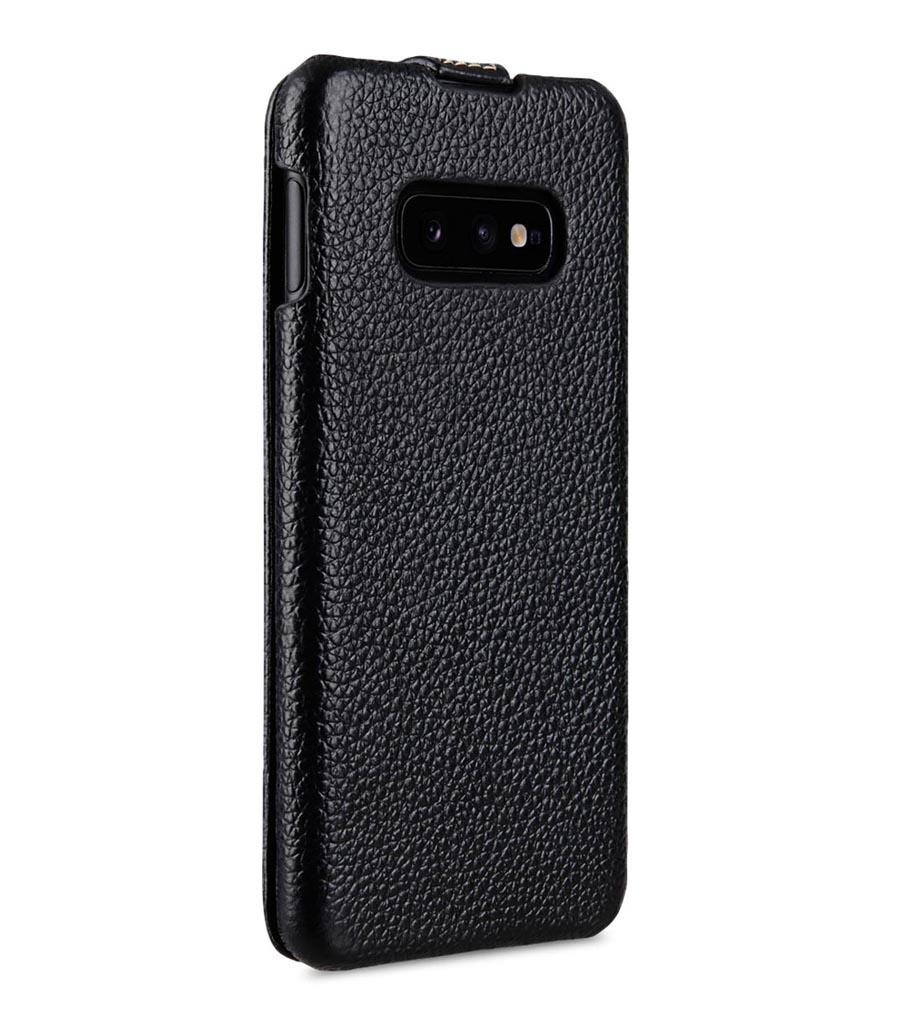 Чехол для сотового телефона Melkco Кожаный чехол флип для Samsung Galaxy S10e - Jacka Type, черный
