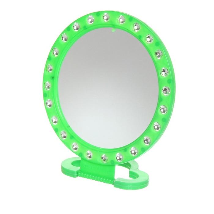 Зеркало настольное Migliores, зеленый