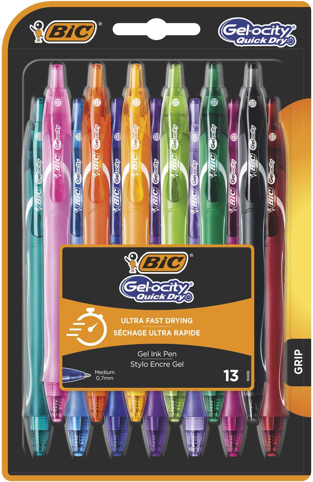 Набор гелевых ручек Bic Gel-Ocity Quick Dry, B964810, 13 цветов