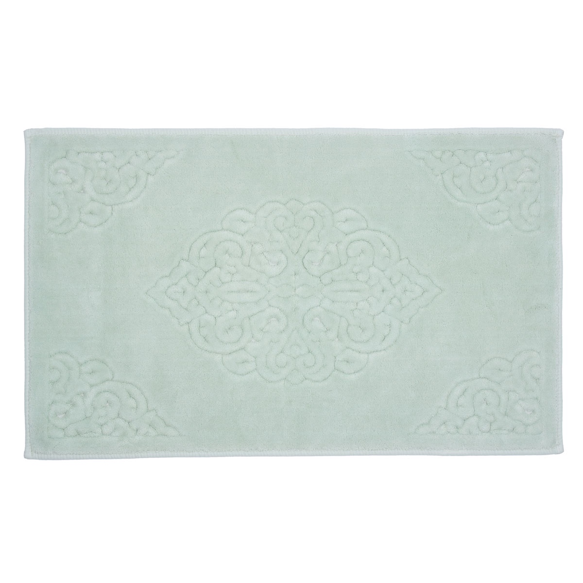 Коврик для ванной Arya home collection Ala, зеленый коврик arya 60х100 2 пр assos бирюзовый 1126860