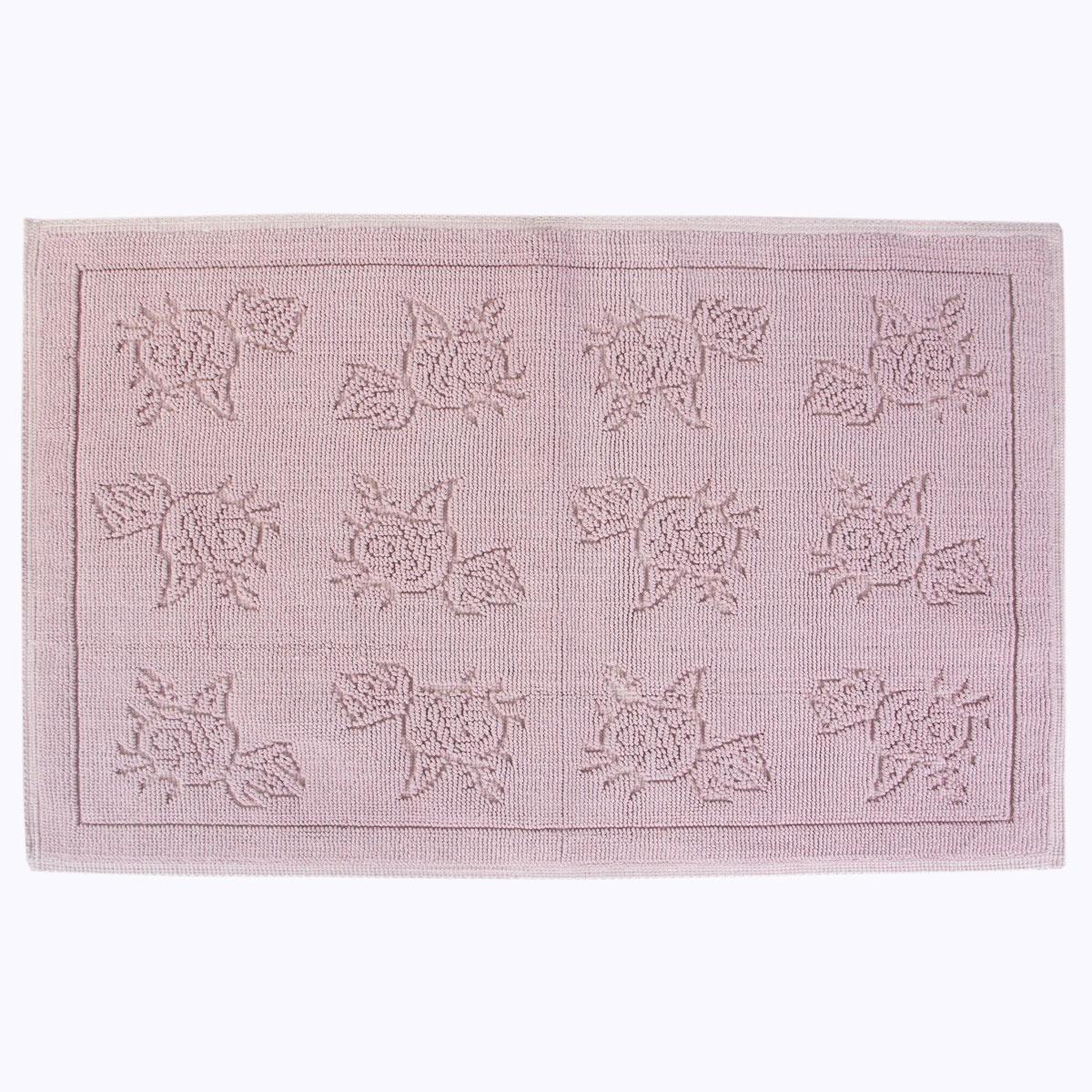 Коврик для ванной Arya home collection Camellia, сиреневый коврик arya 60х100 2 пр assos бирюзовый 1126860