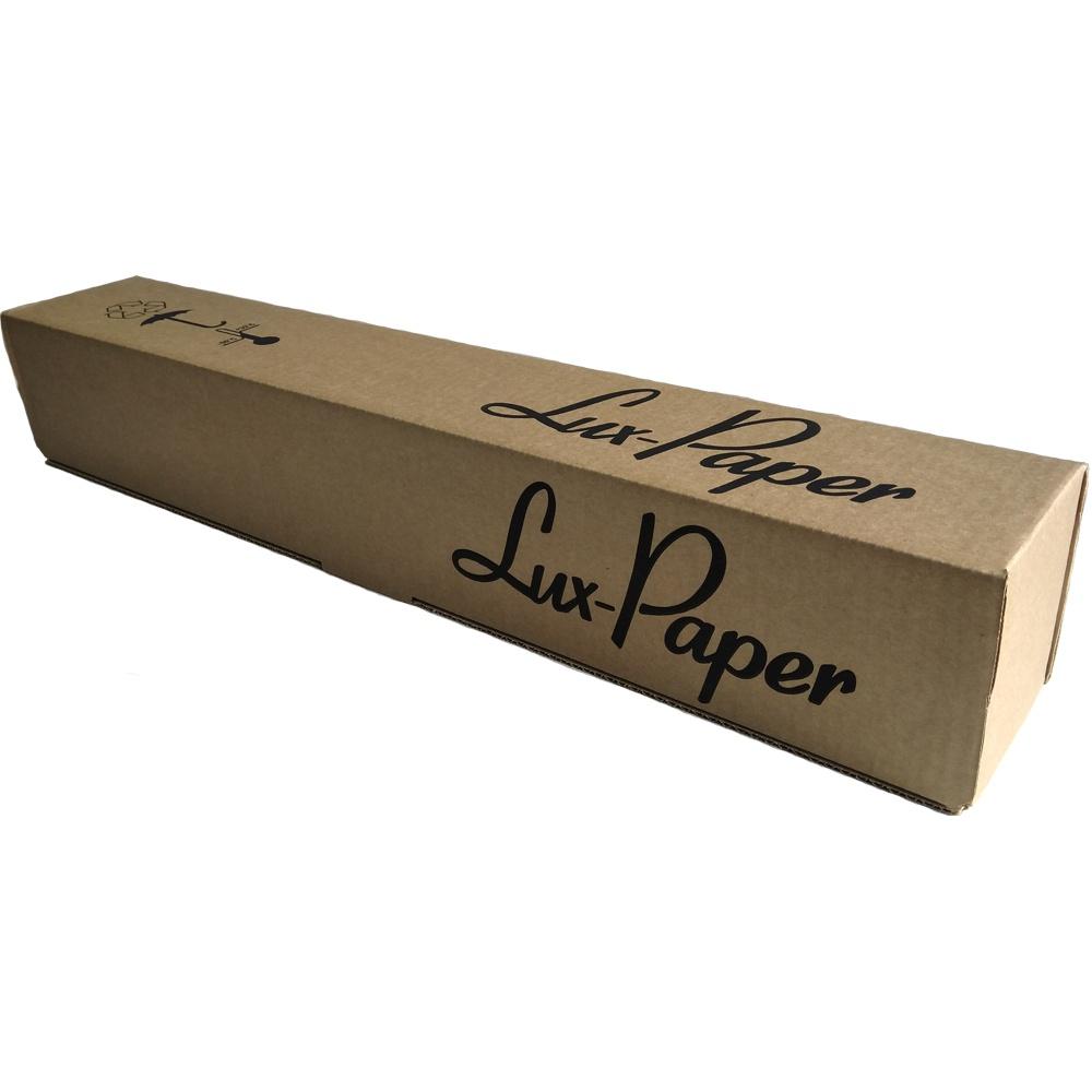 Бумага для плоттера Lux-Paper 610-50мм-45м (А1+, 24 ), 90 г/м кв. LP-C6035A, белый