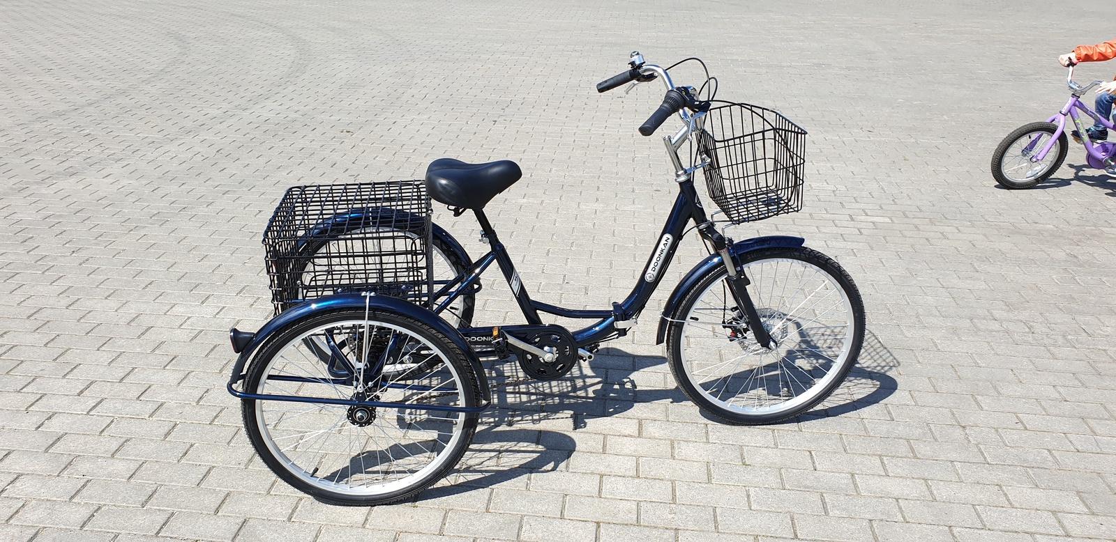 Велосипед DOONKAN Trike 24, синий