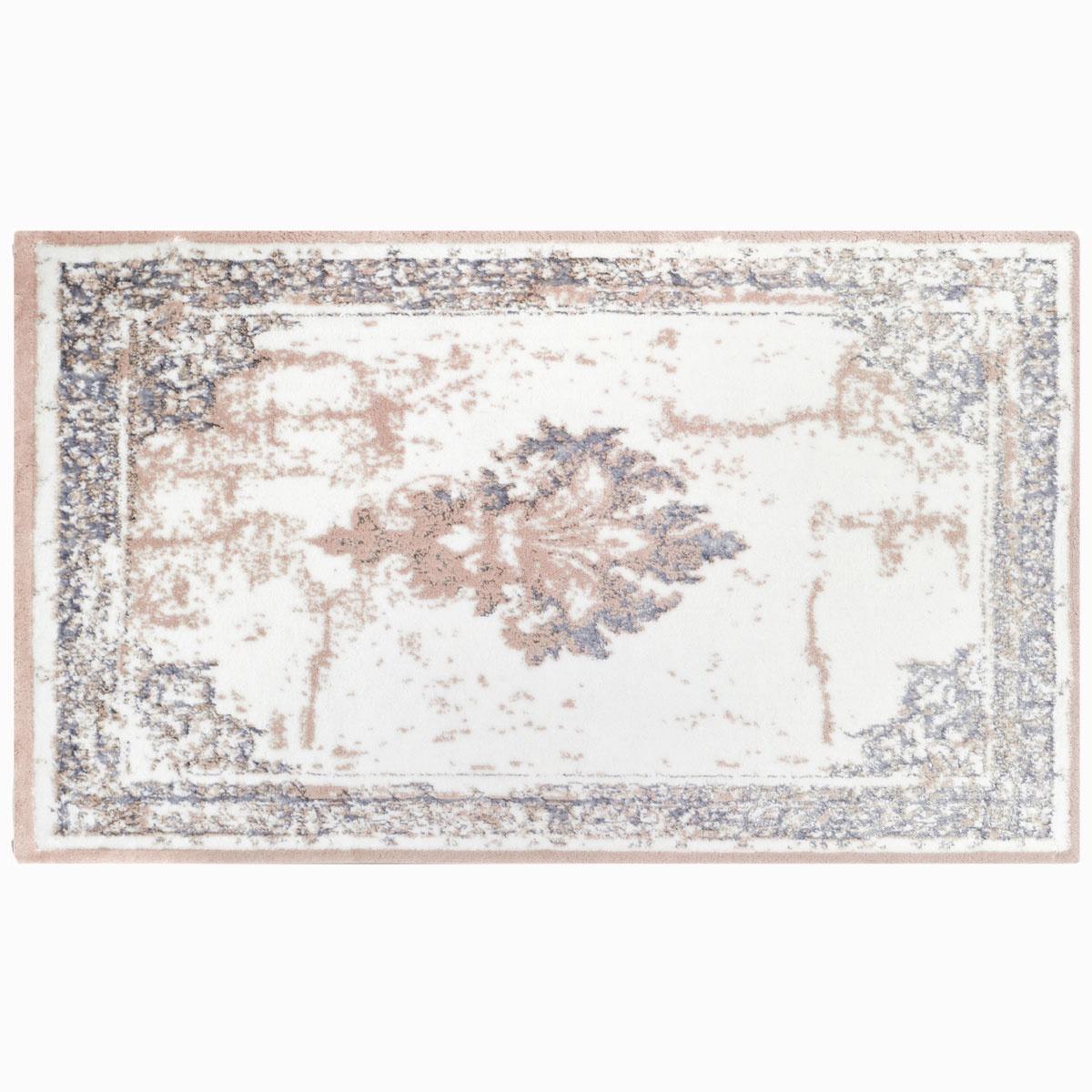 Коврик для ванной Arya home collection Rozzi, серый коврик arya 60х100 2 пр assos бирюзовый 1126860