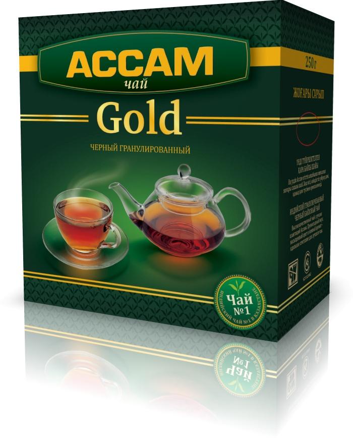 Чай Ассам Gold гранулированный индийский черный, 250 гр. шесть ксуан уу йишен джин июня mei чай черный чай оставляет снег поддержки керамические наборы чая деревянные подарочная коробка 250 г