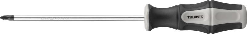 Отвертка стержневая крестовая Thorvik, SDP0100, PH0 х 100 мм отвертка крестовая berger ph0 x 100 мм bg1046